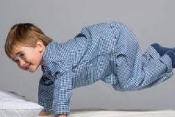 """Как уложить спать """"перегулявшего"""" ребенка?"""