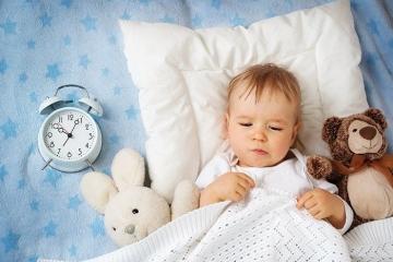 Нормы сна у детей до года.